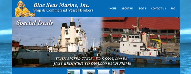 Blue Seas Marine, Inc. Ship Brokers