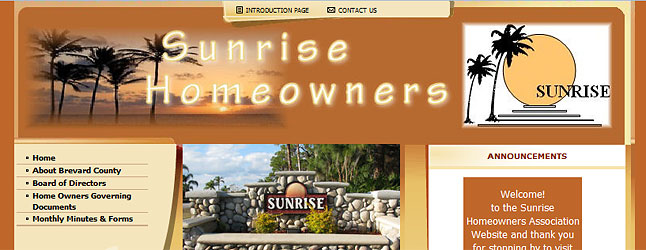 Sunrise Homeowners Association