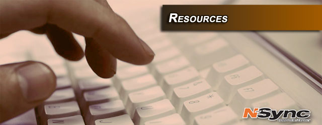 Web Resources Courtesy of N-Sync