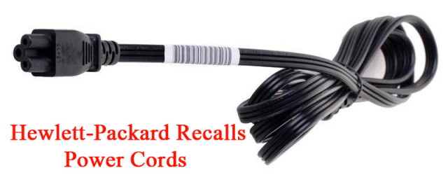 Hewlett-Packard Recalls 6 Million Power Cords Over Fire Risk