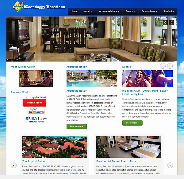 N-Sync Launches www.MoonDoggyVacations.com