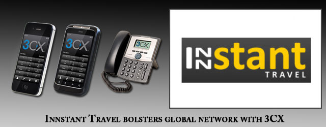 Innstant Travel bolsters global network with 3CX