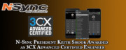 N-Sync President Keith Shook Awarded as 3CX Advanced Certified Engineer