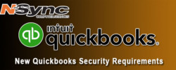 New Quickbooks Security Requirements