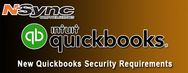 QuickBooks Announces New Security Requirements