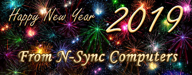 Happy New Years From N-Sync Computers!
