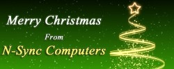 Merry Christmas from N-Sync Computer Services