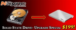 Flash Sale! 500 GB Solid State Drives for $199 + tax Installed.