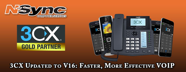 3CX Updated to V16: Faster, More Effective VOIP