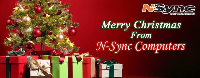 Merry Christmas from N-Sync Computers