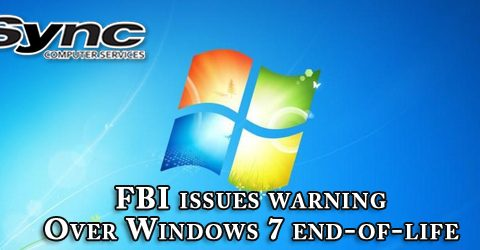 FBI issues warning over Windows 7 end-of-life